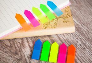 giấy note giúp ghi nhớ từ vựng tiếng trung